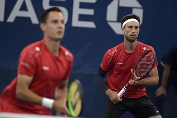 US Open - Sander Gillé et Joran Vliegen battus en quarts de finale du double messieurs