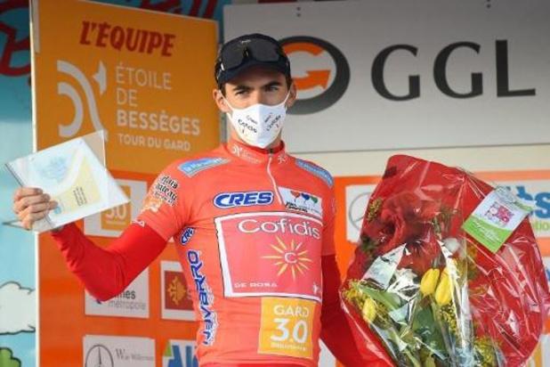 """Le Français Christophe Laporte, premier vainqueur: """"Ce n'est que du bonheur"""""""