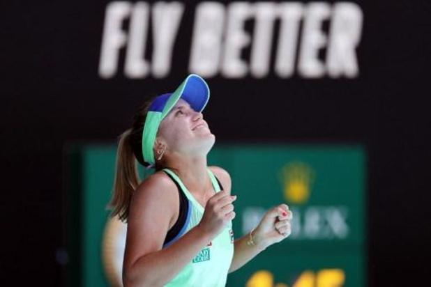 Australian Open - Sofia Kenin voorbij Ashleigh Barty naar finale