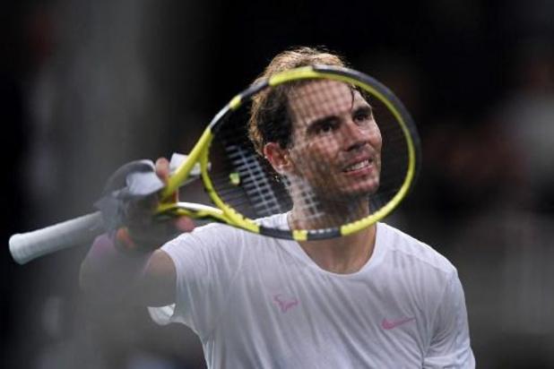 ATP Paris-Bercy - Rafael Nadal élimine Stan Wawrinka et se hisse en quarts de finale
