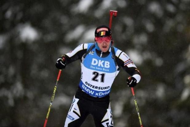 La Belgique 21e, la Norvège une nouvelle fois sacrée aux championnats du monde de biathlon