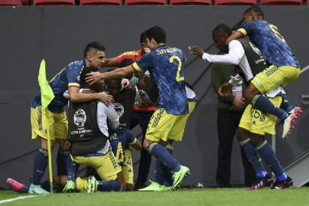 Copa America - La Colombie prend la 3e place au terme d'un match spectaculaire contre le Pérou
