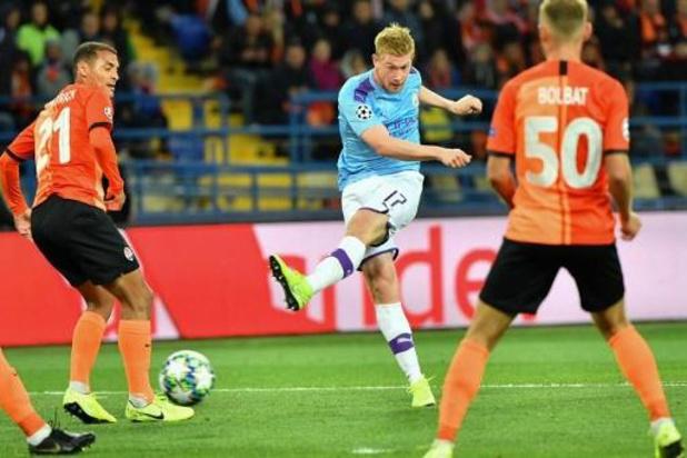 Guardiola n'est pas inquiet pour la blessure de De Bruyne