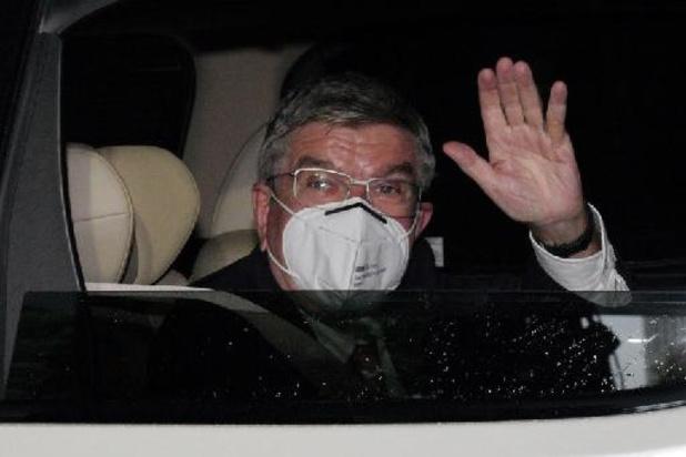 Arrivée à Tokyo du président du CIO Thomas Bach à deux semaines des JO