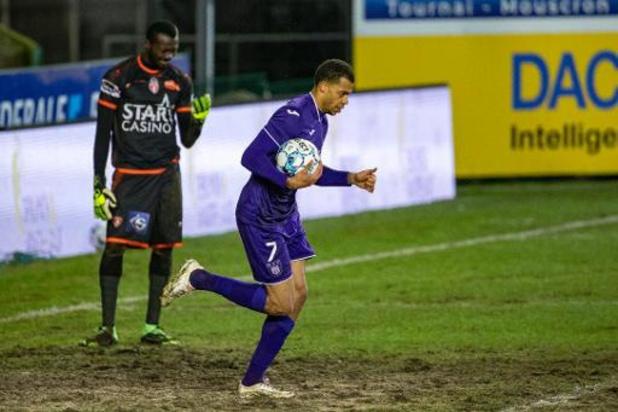 Jupiler Pro League - Anderlecht arrache le partage dans les arrêts de jeu à Mouscron