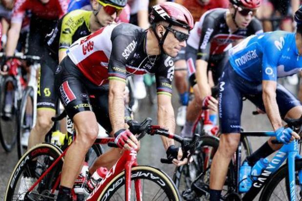 Tour de France - Philippe Gilbert nog steeds in ziekenhuis na val in openingsrit