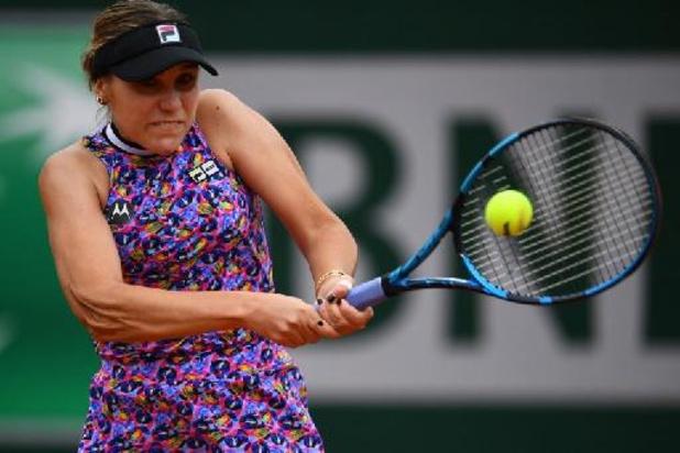 Sofia Kenin se qualifie pour les huitièmes de finale en attendant Elise Mertens