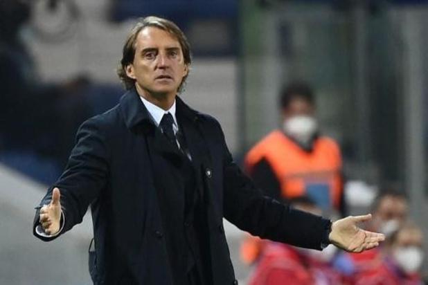 Nations League: Italië nog steeds zonder bondscoach Mancini op de bank
