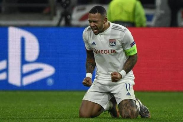 Ligue 1 - Olympique Lyon blijft in gesprek met sterspeler Depay over nieuw contract