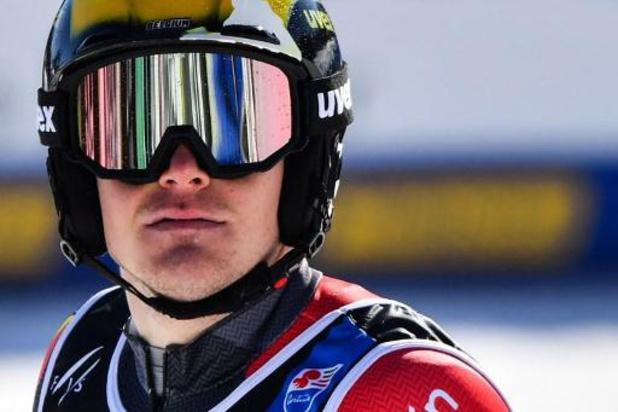 Armand Marchant wordt knap tiende in slalom