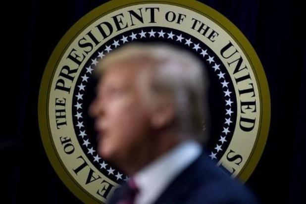 Trump niet tevreden met beslissing om microfoons tijdens debat uit te zetten