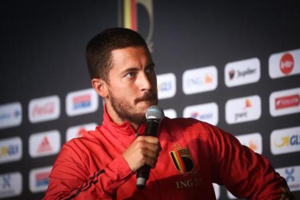 Eden Hazard en Jan Vertonghen zijn opnieuw afwezig op training