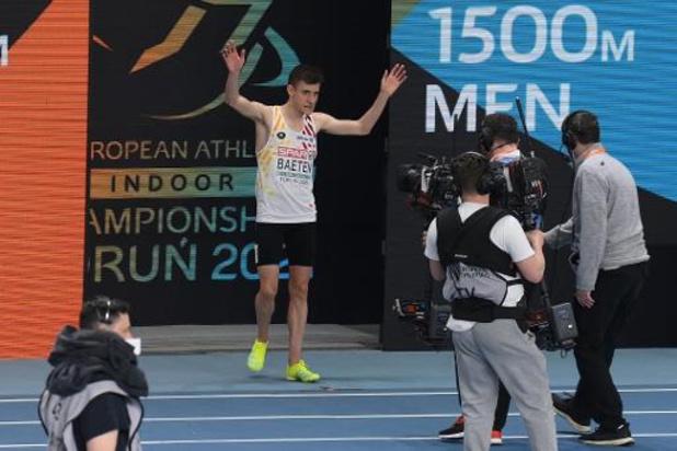 Championnats d'Europe d'athlétisme en salle - Stijn Baeten 13e du 1.500m, l'or pour Jakob Ingebrigtsen