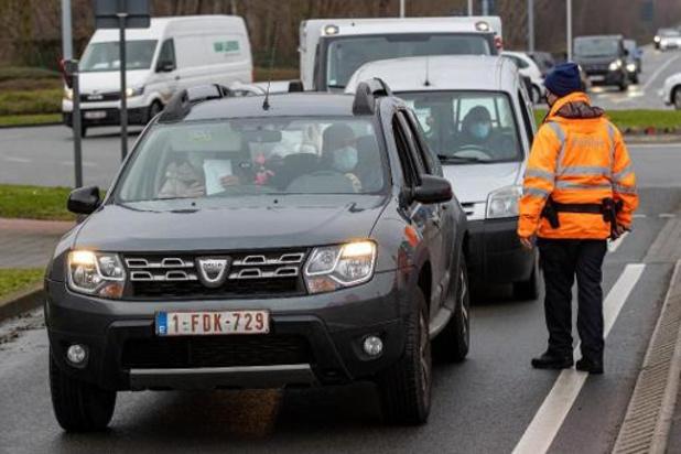 Coronavirus - Pas de test pour les résidents de bassins de vie frontaliers à moins de 30 km de la France
