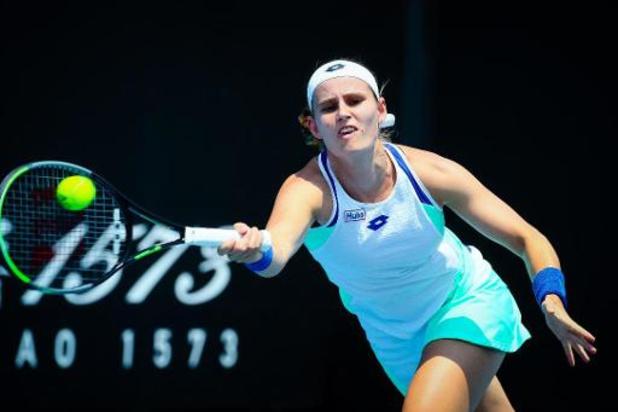 Greet Minnen au deuxième tour de l'Open d'Australie