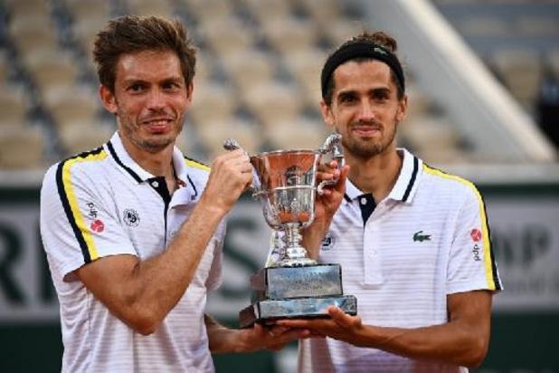 Roland-Garros - Mahut et Herbert s'adjugent le double, Luca Van Assche, né en Belgique, gagne en juniors