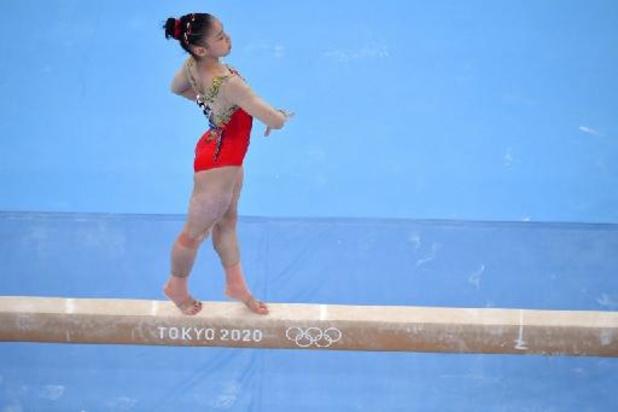 Doublé chinois à la poutre, l'or pour Guan Chenchen, 16 ans, Simone Biles en bronze