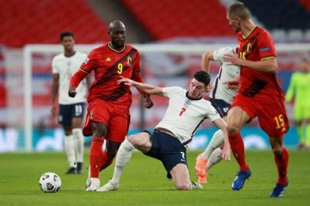 Rode Duivels - Rode Duivels spelen leidersplaats in Nations League kwijt na 2-1 nederlaag in Engeland