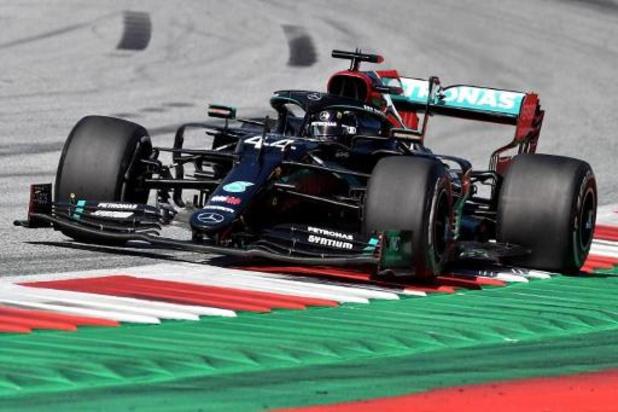 """F1 - Lewis Hamilton, quatrième après sa pénalité en Autriche: """"Je dois accepter la sanction"""""""