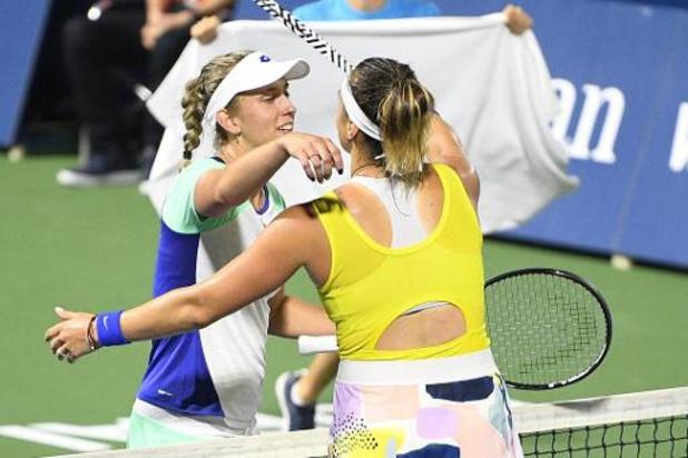 US Open - Mertens en Sabalenka nemen vlotjes eerste horde