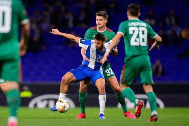 Europa League - Dendoncker (Wolverhampton) en Casteels (Wolfsburg) bekeren voort