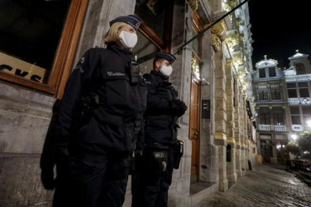 Plus de 500 agents de police en quarantaine