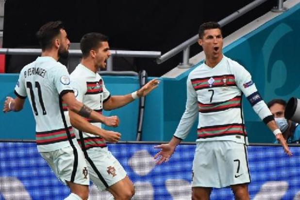 Le Portugal vient à bout de la Hongrie en marquant 3 buts en fin de match