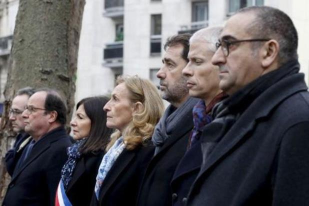Sobere hulde aan slachtoffers aanslagen van januari 2015