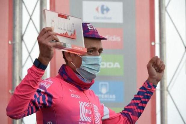 """Vuelta - Ritwinnaar Carthy beleeft droom: """"Heb er geen woorden voor"""""""