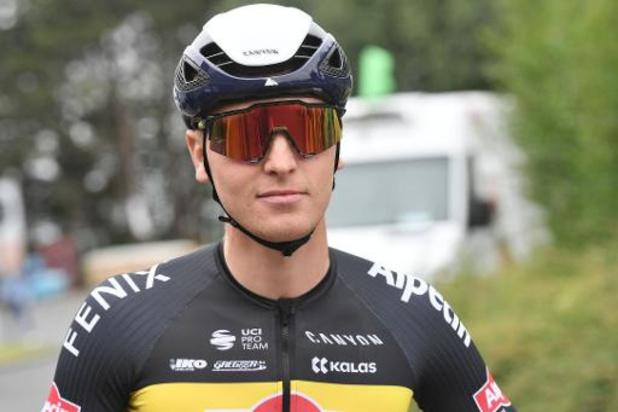 Belgisch kampioen Tim Merlier toont snelle benen