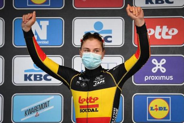 Gent-Wevelgem - Lotte Kopecky botst op een te sterke Jolien D'hoore