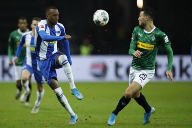 Lukabakio bezorgt Hertha de zege tegen Wolfsburg van Casteels
