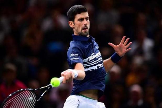ATP Paris-Bercy: Novak Djokovic balaie Stefanos Tsitsipas: 6-1, 6-2