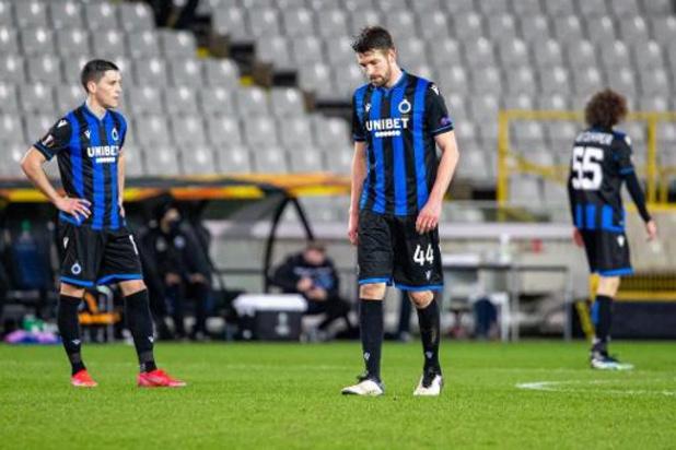 Europa League - Dernier club belge en lice en Europe, le Club de Bruges est éliminé par le Dynamo Kiev