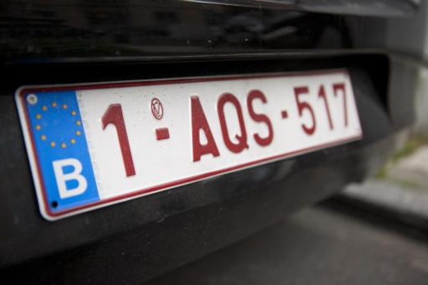 Nieuwe nummerplaten zullen in januari met indexcijfer '2' beginnen