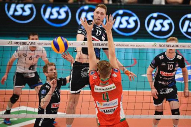 Euromillions Volley League - Maaseik en Roeselare zetten competitie in met overwinning