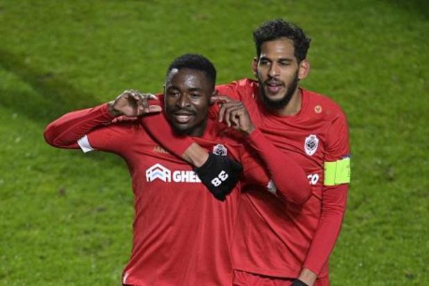 Europa League - Kapitein Haroun zag Antwerp volwassen reageren na tegendoelpunt