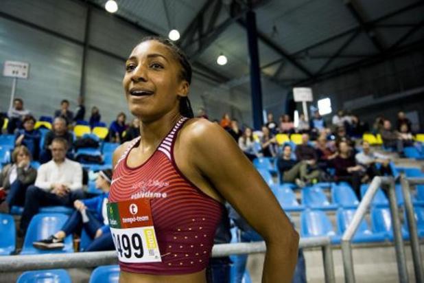 Nafissatou Thiam bat le record de Belgique du saut en longueur indoor à Liévin