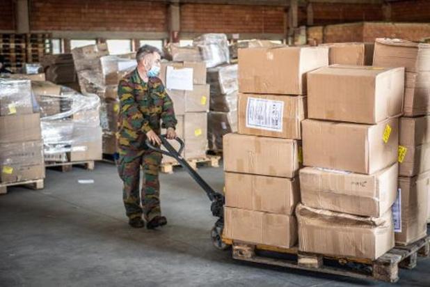 ASL Group Hasselt transporte 16 millions de masques