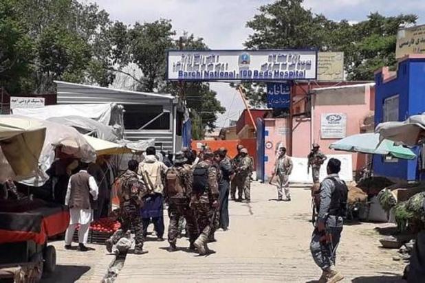 Onbekenden bestormen ziekenhuis in Kaboel