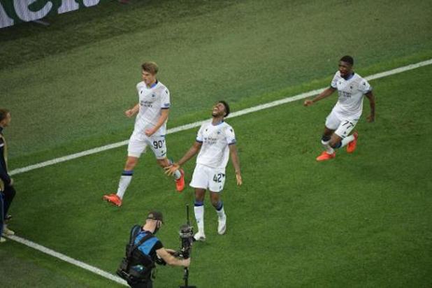 Club Brugge pakt in extremis de volle buit in CL-opener uit bij Zenit