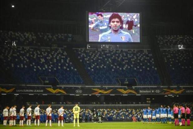 Dries Mertens speelt voortaan in het Diego Armando Maradona-stadion