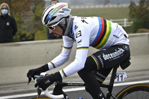 Julian Alaphilippe compte revenir au Tour des Flandres l'année prochaine