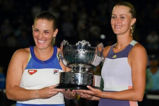 US Open - Topreekshoofden dubbelspel van tabel verdwenen vanwege contact Mladenovic met Paire