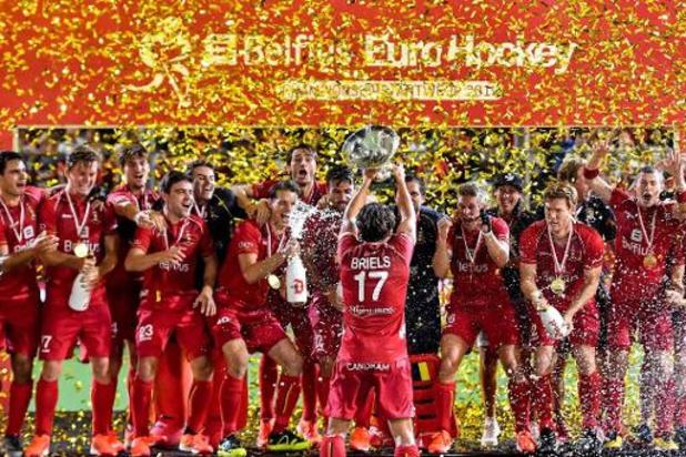 L'Euro de hockey 2021, avancé de quelques semaines, se disputera en juin