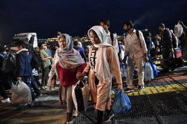 Athene wil vluchtelingenkampen op eilanden vervangen door gesloten kampen