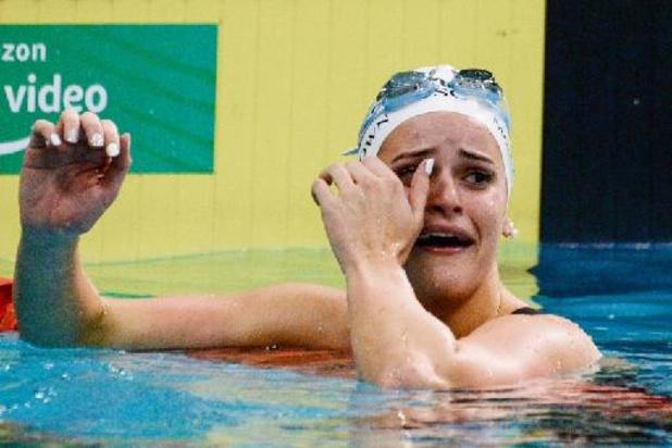 L'Australienne Kaylee McKeown bat le record du monde du 100 mètres dos