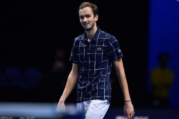ATP Finals - Medvedev renverse Nadal et rejoint Thiem en finale