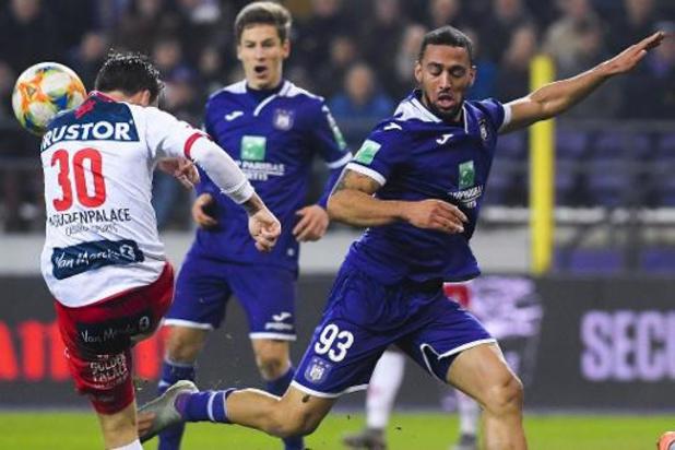 Jupiler Pro League - Anderlecht en Kortrijk komen niet tot scoren in povere pot voetbal