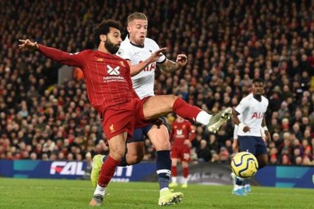 Les Belges à l'étranger - Tottenham et Alderweireld s'inclinent à Liverpool